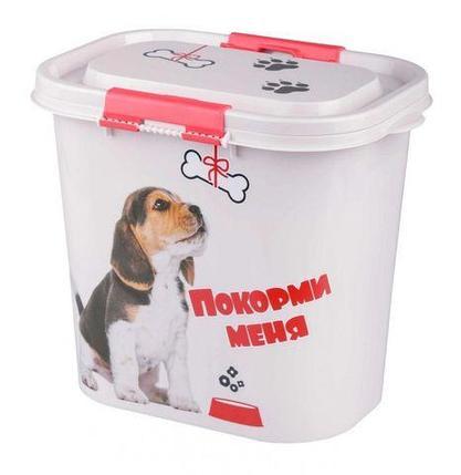 Контейнер с набором аксессуаров для корма «Покорми меня» 3-в-1 (для собаки), фото 2