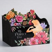Органайзер для канцелярии My perfect day, Принцессы, 140 х 170 х 150 мм