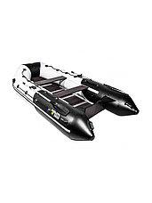 Лодка ПВХ Ривьера Максима 3600 СК комби светло-серый/черный, фото 2