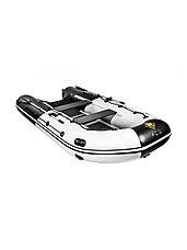 Лодка ПВХ Ривьера Максима 3600 СК комби светло-серый/черный, фото 3