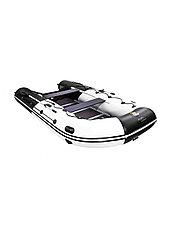 Лодка ПВХ Ривьера Максима 3800 СК комби светло-серый/черный, фото 3