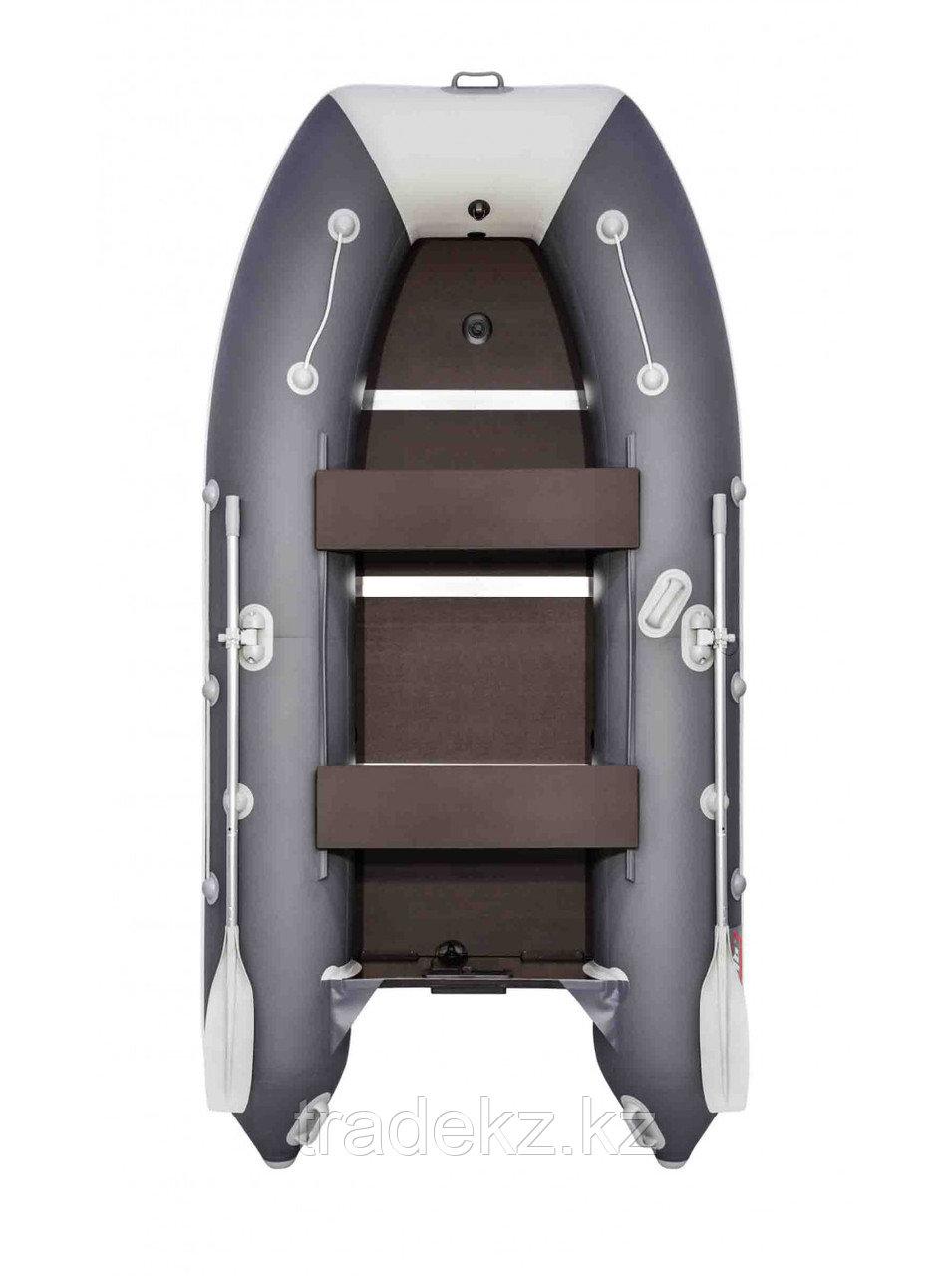 Лодка ПВХ Таймень LX 3400 СК графит/светло-серый