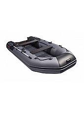 Лодка ПВХ ТАЙМЕНЬ NX 3200 НДНД графит/черный, фото 2