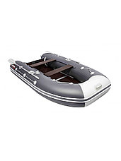 Лодка ПВХ Таймень LX 3200 СК графит/светло-серый, фото 3