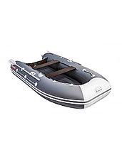 Лодка ПВХ Таймень LX 3200 НДНД графит/светло-серый, фото 3