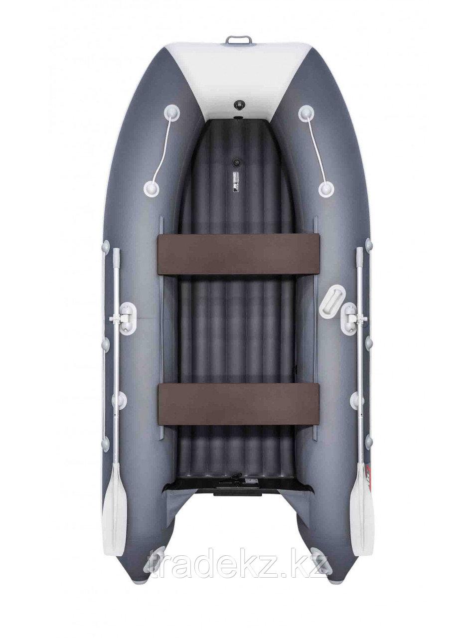Лодка ПВХ Таймень LX 3600 НДНД графит/светло-серый