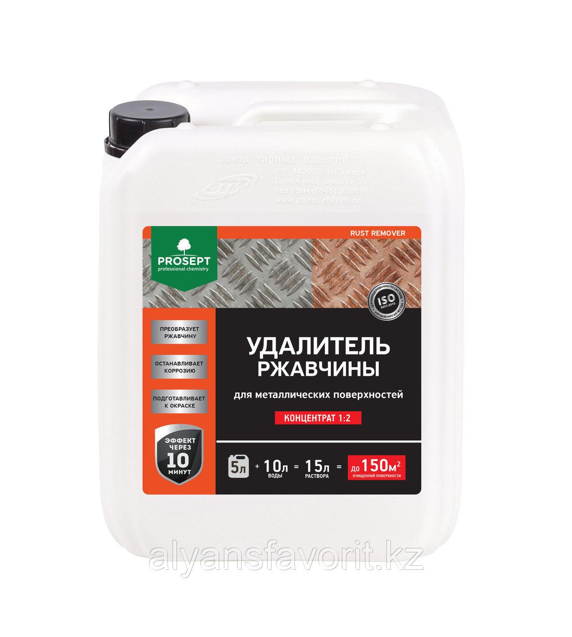 RUST REMOVER - удалитель ржавчины - концентрат. 5 литров.РФ