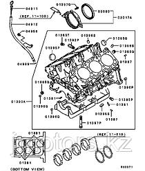 Сальник коренной Mitsubishi BH6066E0