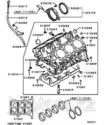 Сальник коренной оригинал Mitsubishi DMD372251
