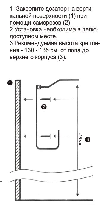 санитайзер локтевой