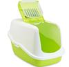 Savic туалет БИО Nestor с фильтром и дверцей,белый/зеленый  0227-00WL