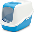 SAVIC Лоток БИО Nestor с фильтром  и дверцей  бело/голубой 56,00cm x 39,00cm x 38,50cm