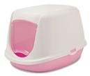 SAVIC Лоток БИО бело розовый     44,50cm x 35,50cm x 32,00cm