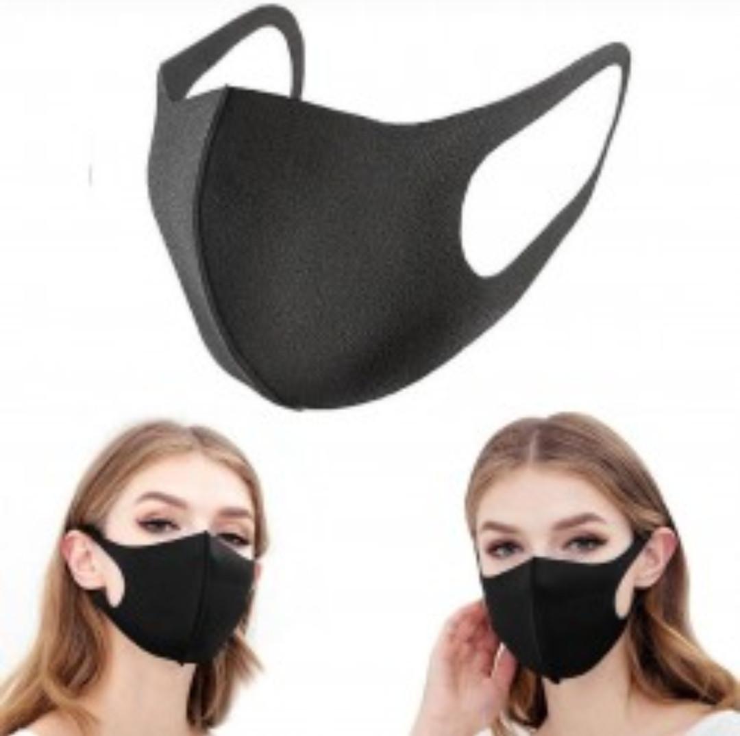 Многоразовые маски текстильные