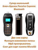 Супер маленький мобильный телефон в виде ключа-брелока Porsche Cayenne, Mini Phone BM90