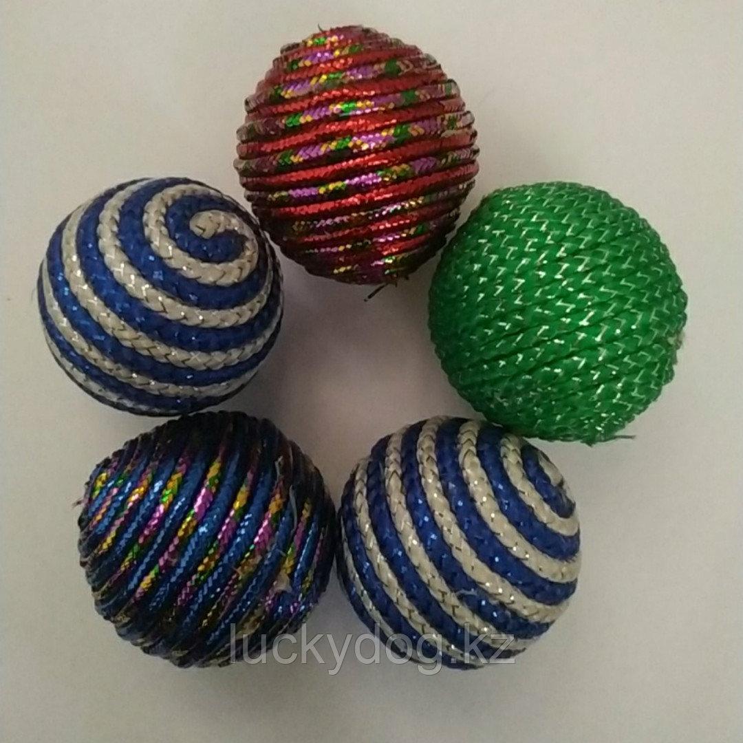 """Игрушка """" Сизалевый мячик """" 4.5 см"""