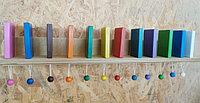 Настенный модуль Разноцветное Домино, Тактильно-развивающая панель (12 домино)