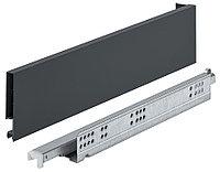 Выдвижной ящик MATRIX SLIM, антрацит, Push-to-Open, 89X450MM, фото 1