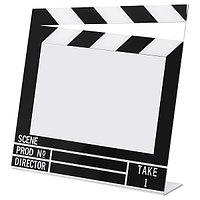 БИСТОККЕН Рама, черный/белый, 15x10 см ИКЕА, фото 1