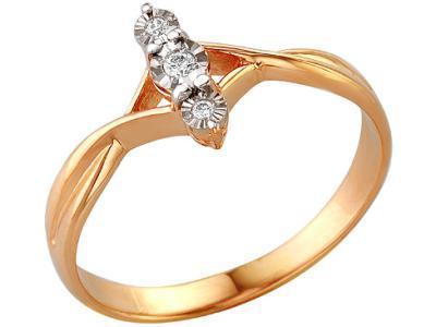 Золотое кольцо РусГолдАрт 188703_1_5_1_18