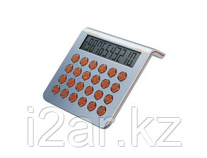 Калькулятор серебристый