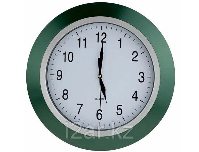 Настенные часы зеленый