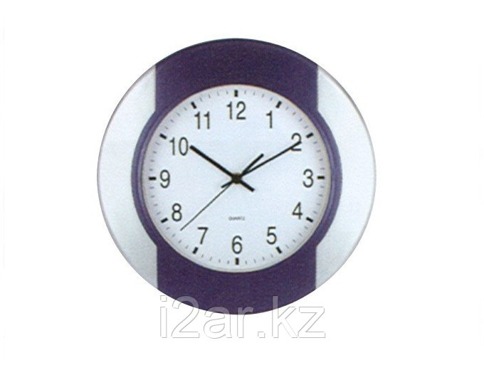 Настенные часы сиреневые