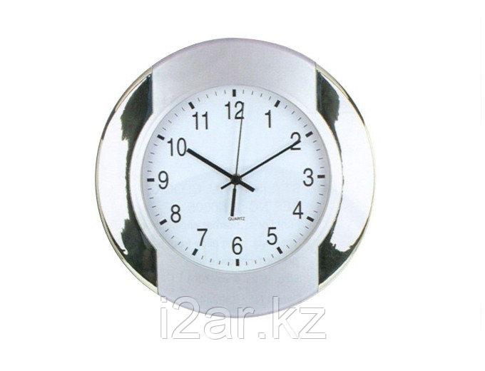 Настенные часы серые