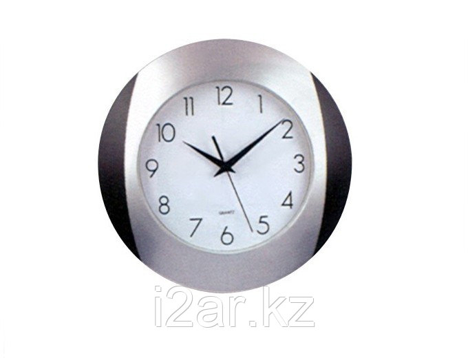 Настенные часы черные пластиковые