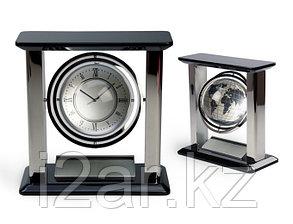 Настольные вращающиеся часы с фоторамкой