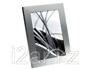 Фоторамка серебристая алюминиевая