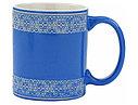 Кружка с орнаментом синяя, фото 2