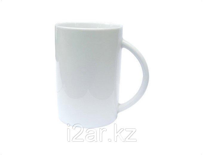 Кружка керамическая белая