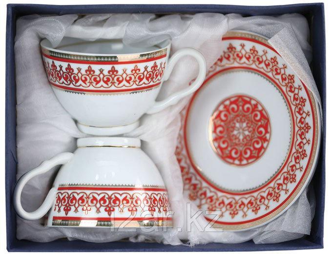 Чайный набор красный