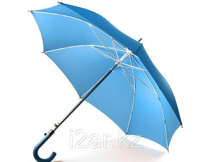 """Зонт - трость (23""""*14) голубой"""