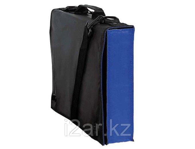 Конференц/школьная сумма черно-синяя