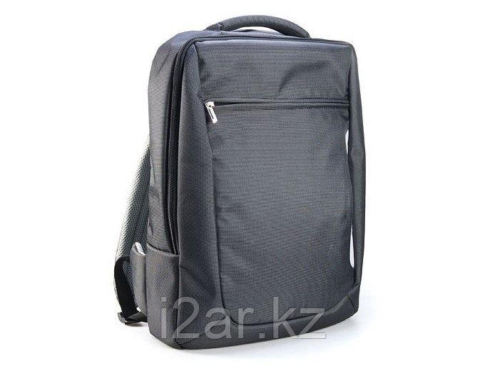 Рюкзак серый микрофибра