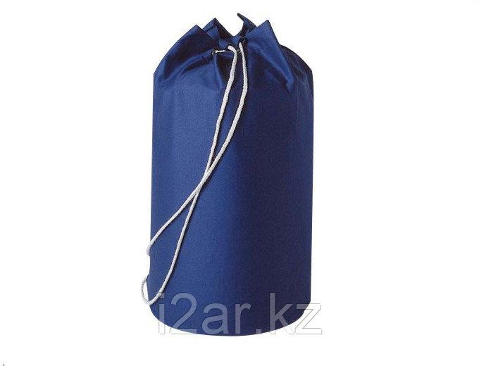Пляжная сумка х/б синяя