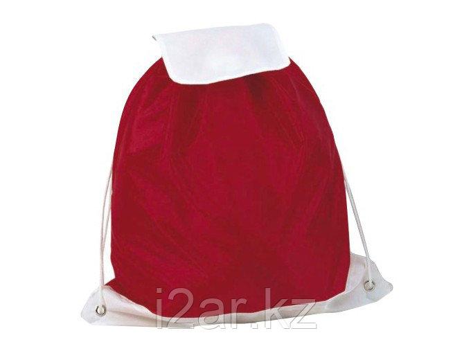 Заплечная сумка красная