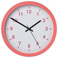 Настенные часы,ЧАЛЛА розовый, 28 см ИКЕА, IKEA
