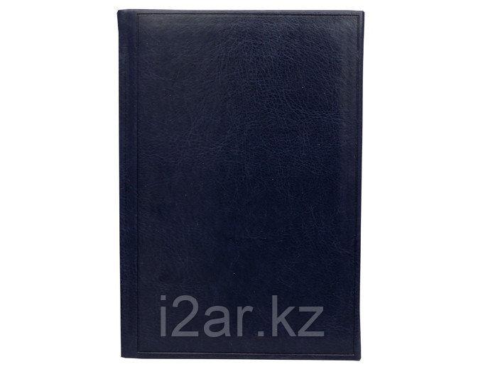 Датированный ежедневник А5 Frame (Фрэйм) темно-синий