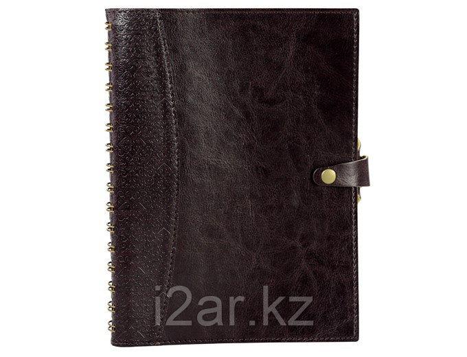 Датированный ежедневник А5 Nomad (Номад) коричневый