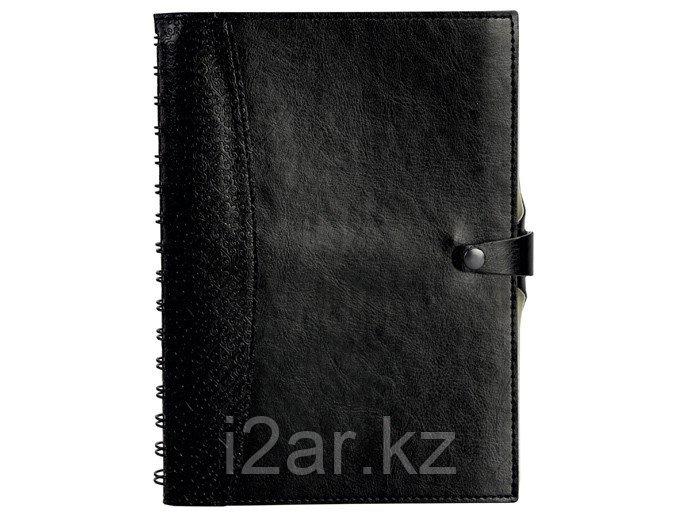 Датированный ежедневник А5 Nomad (Номад) черный