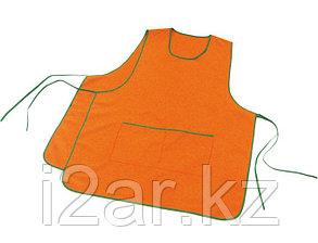 Фартук с воротом, цвет оранжевый