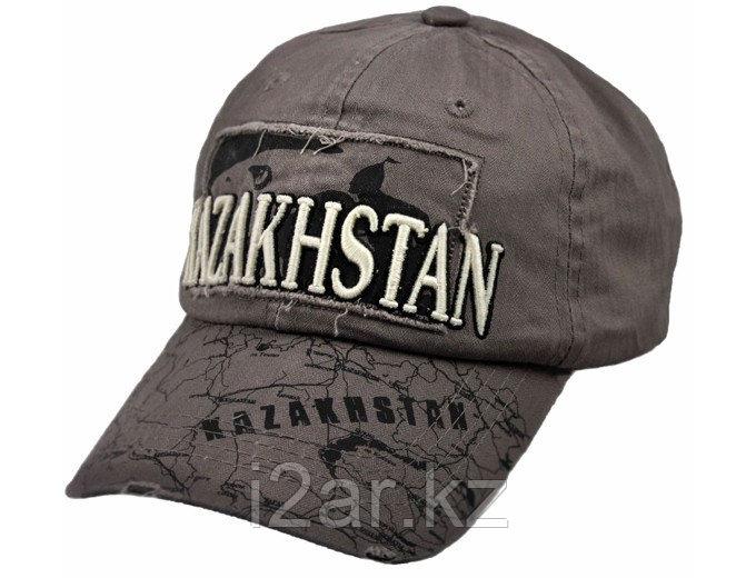 """Бейсболка """"Казахстан"""" с рисунком"""