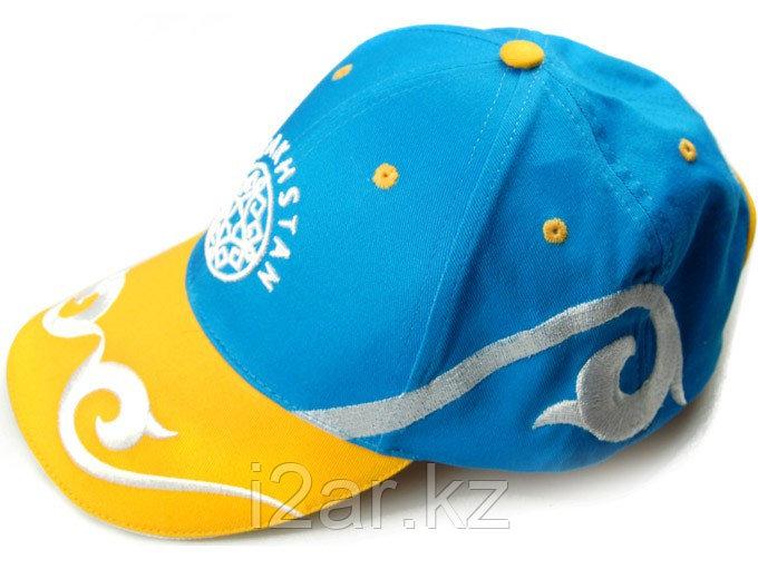 """Бейсболка """"Казахстан"""", орнамент"""