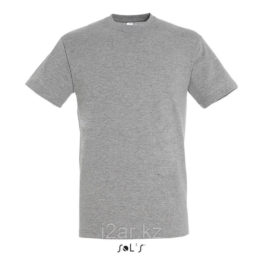 Футболка Regent | Sols | Grey melange