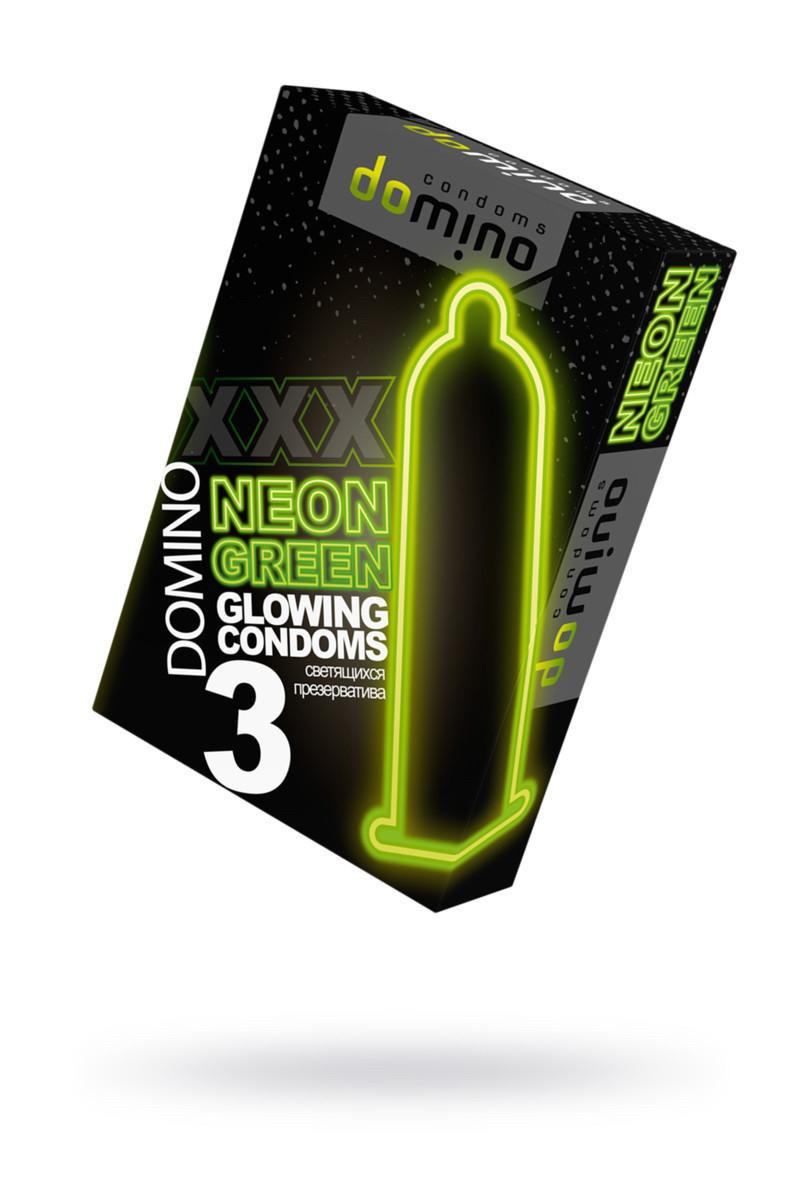 Презервативы Luxe Domino Neon №3