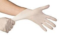 Перчатки одноразовые.