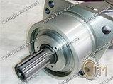 Гидромотор 210.20.11.21Б аксиально-поршневой нерегулируемый со шлицевым валом, фото 3